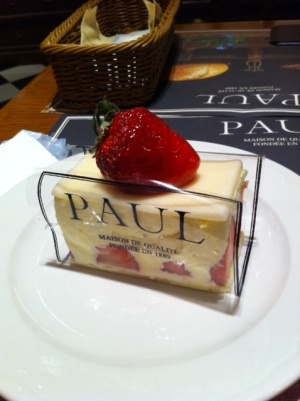 PAULのフレジェ